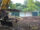Bau des Kunstrasenplatzes